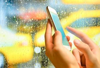 заказ такси через мобильное приложение